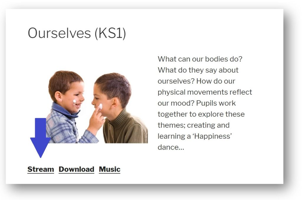 Dance Notes licence-holder lesson page example